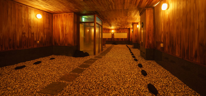 嵐の湯 | 新潟県 岩室温泉の旅館 ほてる大橋 館の湯