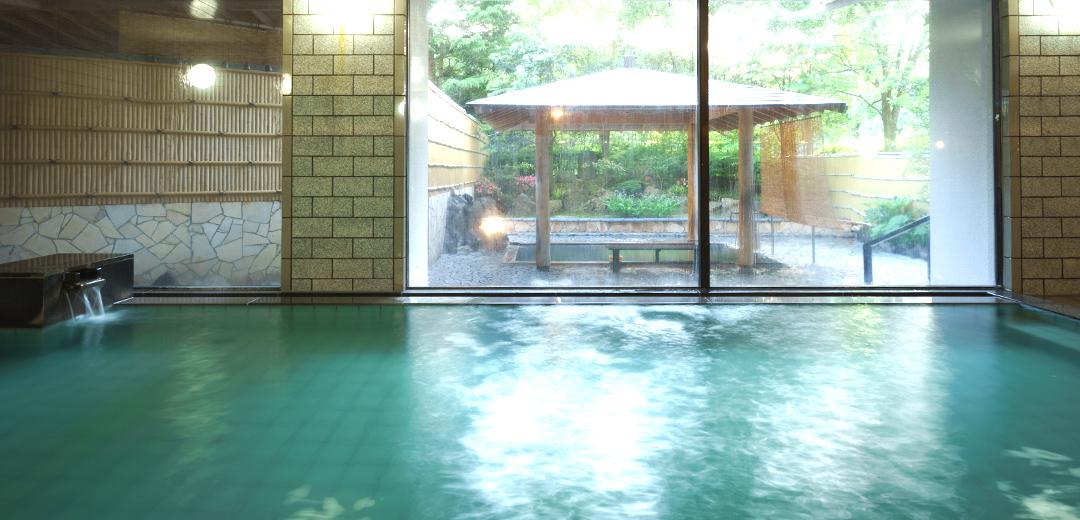 ほてる大橋 館の湯 殿方大浴場 玉の湯