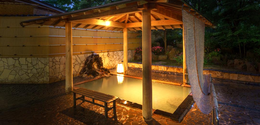 ほてる大橋 館の湯 殿方露天風呂 多宝の湯